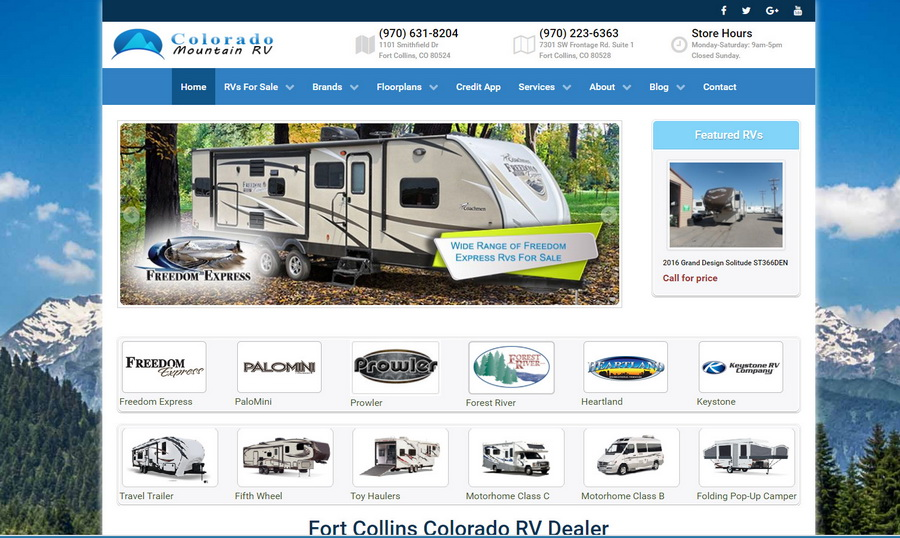 Colorado Mountain RV