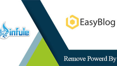 Easyblog Joomla Remove Powered By link